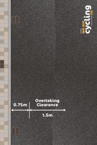 Cycling UK close pass mat